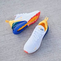 Nike Air Max 270 men and women The air cushion shoes-17