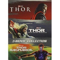 Thor DVD Series Movies 1-3 Set Includes All 3 Movies