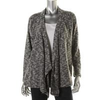 Two by Vince Camuto Womens Knit Open Front Cardigan Sweater