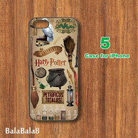harry potter scrapbook supplies --iPhone  4 case,iphone 5 Case, in durable plastic or rubber silicone case