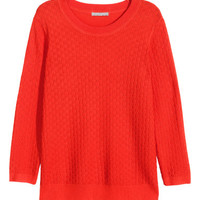 H&M Texture-knit Sweater $24.99
