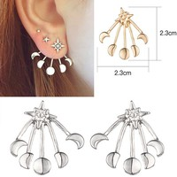 Simple Design Stylish Accessory Strong Character Hot Sale Earrings [10985360711]