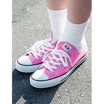 Converse Fashion Canvas Flats Sneakers Sport Shoes-13