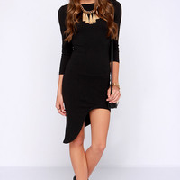 Crazy in Love Black Bodycon Dress
