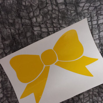 Bow decal   Decal   Window Decal   Bottle Decal   Laptop sticker   car decal   sticker   Preppy decal   Preppy   Glitter Decal