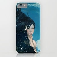 Shhh...Lady Night Is Coming iPhone & iPod Case by Paula Belle Flores