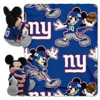 MICKEY MOUSE HUGGER BEAR AND BLANKET