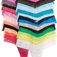 Hanky Panky - Set of 30 stretch-lace thongs