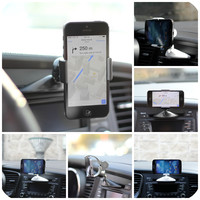 Ppyple CD-CLIP 5 Universal Car CD Slot Smartphone Car Mount Holder Cradle for iPhone, Samsung Galaxy, LG and more