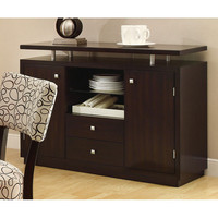 Coaster Furniture 103165 Libby Two Door Dining Server Buffet with Floating Top