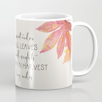 Fall Coffee Mug by sylviacookphotography
