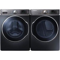 Samsung 5.6 cu. ft. Front-Load Washer & 9.5 cu. ft. Front-Load Dryer Bundle - Appliances - Washer and Dryer Sets - Washer and Dryer Bundles