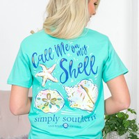 Call Me On My Shell Tee |Simply Southern