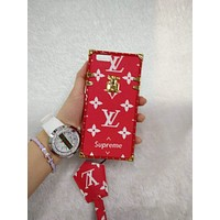 LV Hot Deal Apple Matte Couple Phone Case For iphone 7 6plus 7 plus G