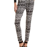 Tribal Print Jogger Pants by Charlotte Russe