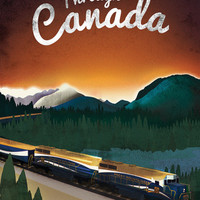 Vintage-Style Railway Posters Celebrate Centenary of Bradshaw's Railway Guide