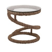 Exclusive Bedford Jute Rope Accent Table