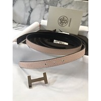 hermes belt, men hermes belt, women hermes belt, belt, belt hermes, belts for men, belts for women, Leather belt, men belt, mens belt, women belt,Hermes reversibe Belt Kit 13mm Sz 75 Gold H Constance Rose EGLANTINE Blue Indigo