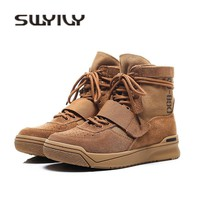 SWYIVY 35 43 Couples Design Woman Sneakers Genuine Leather High Top Casual Shoes Flats 2018 Autumn New Brithish Canvas Sneakers
