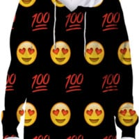 Emoji Hoodie created by trilogy-anonymous | Print All Over Me