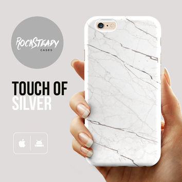 White Marble iPhone 6s case, iPhone 6 case, iPhone 6 Plus case, Marble iPhone 6 case, Marble Samsung S5 case, iPhone 5s Case, iPhone 5C case