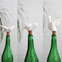 Birds of a Feather Wine Stoppers Assorted Styles- imm Living | Burke Decor