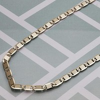 Gold Layered Men Basic Necklace, by Folks Jewelry