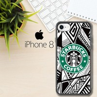 Starbucks W4132 iPhone 8 Case
