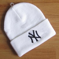 Boys & Men NY Hip hop Women Men Beanies Winter Knit Hat Cap