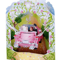 Kate's Paperie : Shop : 3D Interactive Greeting Card, Wedding Car : 0013737 :