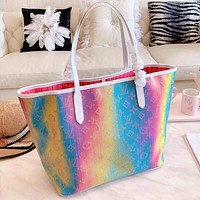 Louis Vuitton LV Fashion Women Shopping Bag Leather Colorful Handbag Shoulder Bag