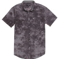 Billabong Squared Short Sleeve Woven Shirt - Mens Shirts - Black