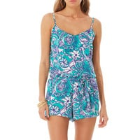 Deanna Tank Top Romper - Lilly Pulitzer