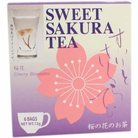 Sweet SAKURA Tea ~ Blooming Cherry Blossom In Your Cup (6pcs)