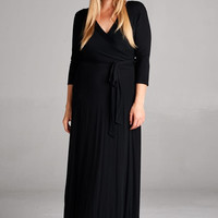 Solid Wrap Maxi - MMB Famous Collection