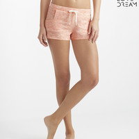 LLD Space Dye Knit Shorty Shorts