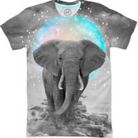 Strength & Courage (Stand Alone Elephant) Men's T-Shirts by Soaring Anchor Designs | Nuvango