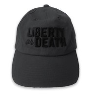 Liberty or Death Embroidered Hat