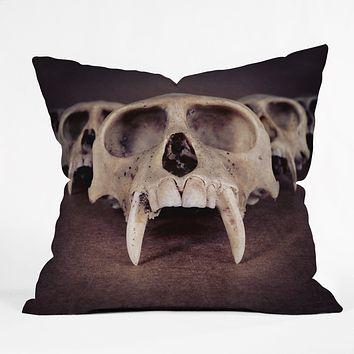 Ballack Art House Theories Of Early Man Throw Pillow
