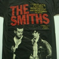 the smiths morrissey and marr song book t-shirt unisex size m