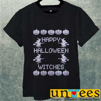 Happy Halloween Witches Men T Shirt