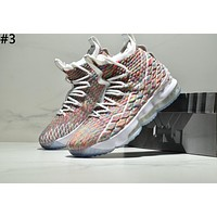 Nike Lebron 15 James 15th generation atmospheric cushion tide brand basketball shoes boots #3