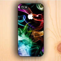 Dream colorful Rainbow Abstract Smoke iPhone 5s Case