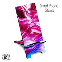Marble Smart Phone Stand, Device Holder, Cell Phone Holder, Phone Easel, iPhone Stand, Docking Station, Desk Accessory, Friend Gift, SPS1023