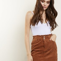 Track Re-cord Corduroy Skirt