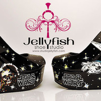 Star Wars Shoes ( HAND PAINTED )