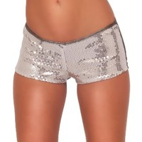 Hot from Hollywood Women's Sequins Bootie Embellished Hot Pants:Amazon:Clothing