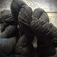 Peace Fleece Fathers Gray, worsted weight yarn for knitting