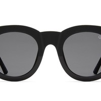 Quay If Only Black Sunglasses / Smoke Lenses