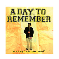 A Day To Remember - For Those Who Have Heart Vinyl LP Hot Topic Exclusive